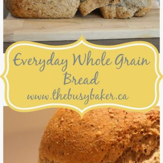 Everyday Whole Grain Bread