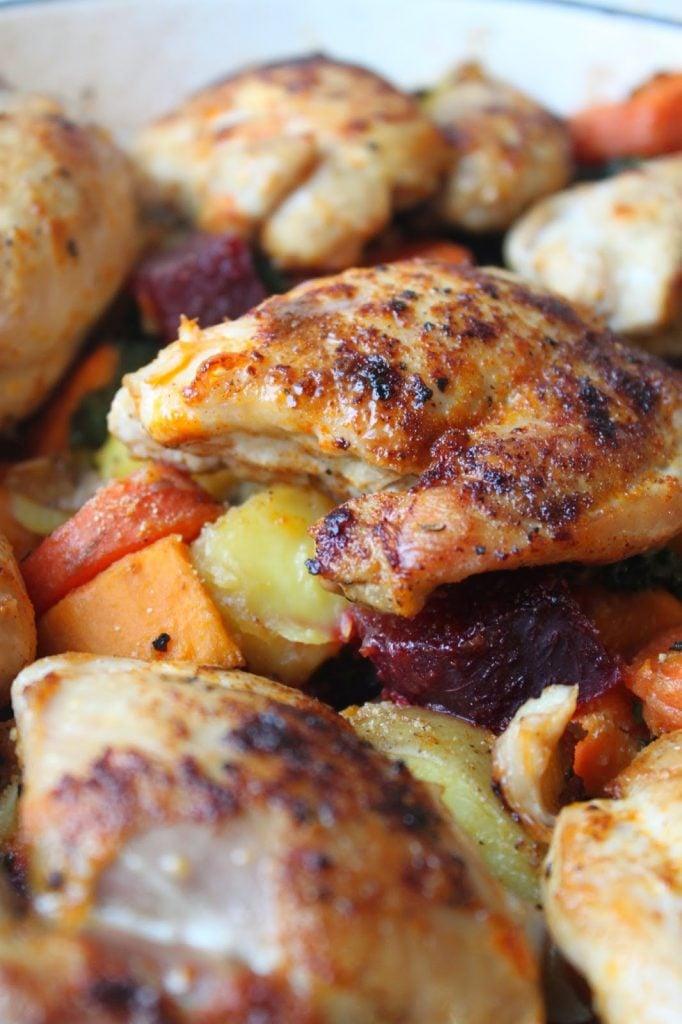 paprika chicken dinner