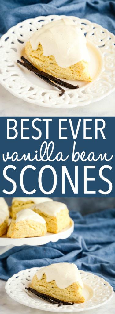 Best Ever Vanilla Bean Scones Pinterest