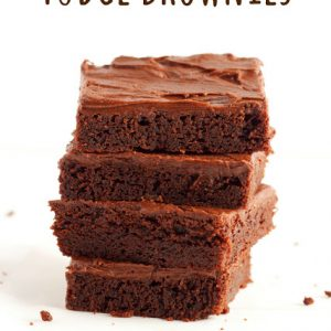 titled image (and shown): Fudge Brownies
