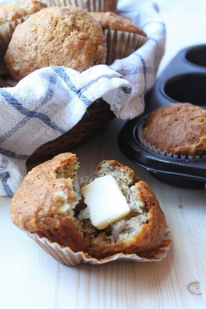 These Best Ever Banana Muffins are the best banana muffins you'll ever try! And so easy to make! Recipe from www.thebusybaker.ca