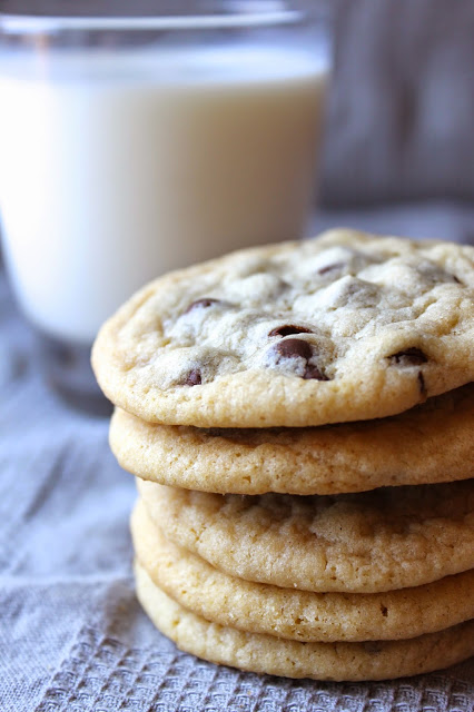 These Chewy Chocolate Chip Cookies are soft and chewy on the inside and crispy on the outside - the PERFECT chocolate chip cookies with pro tips! Recipe from thebusybaker.ca #perfectchocolatechipcookies #chewychocolatechipcookies