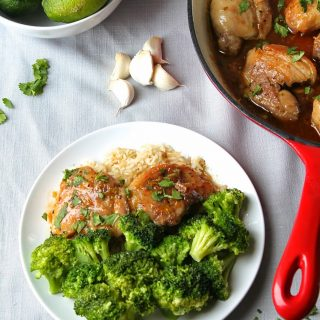 Honey Garlic and Lime Chicken