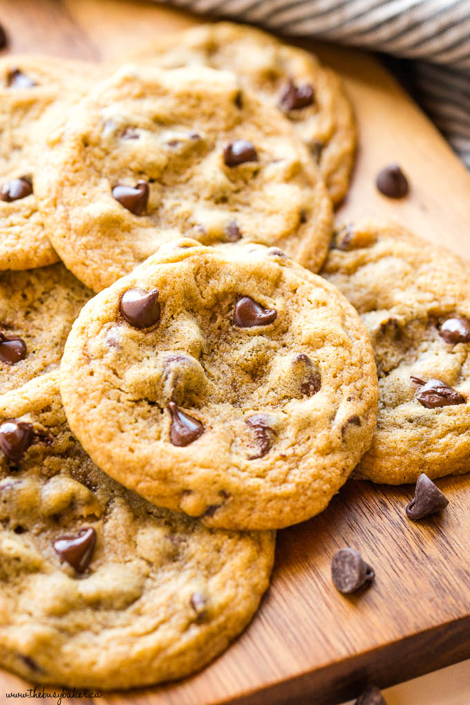 chocolate chip cookies with extra chocolate chips