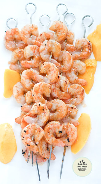 Mango Chili Glazed Shrimp