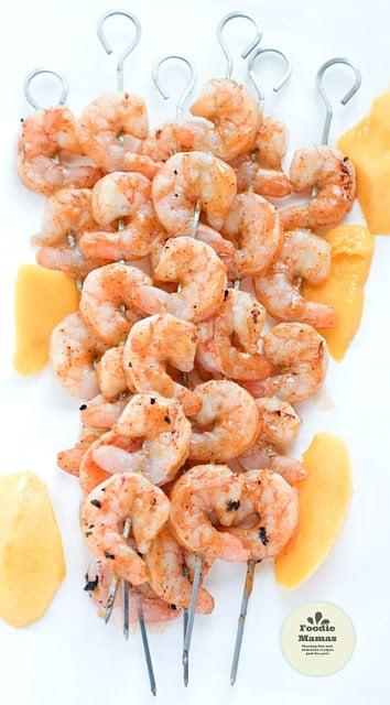 Mango Chili Glazed Shrimp