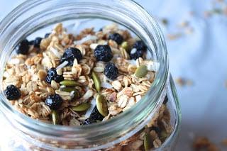 http://www.thebusybaker.ca/2015/05/blueberry-pumpkin-seed-granola.html