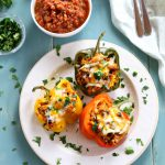 Mexican-Style Quinoa Stuffed Peppers