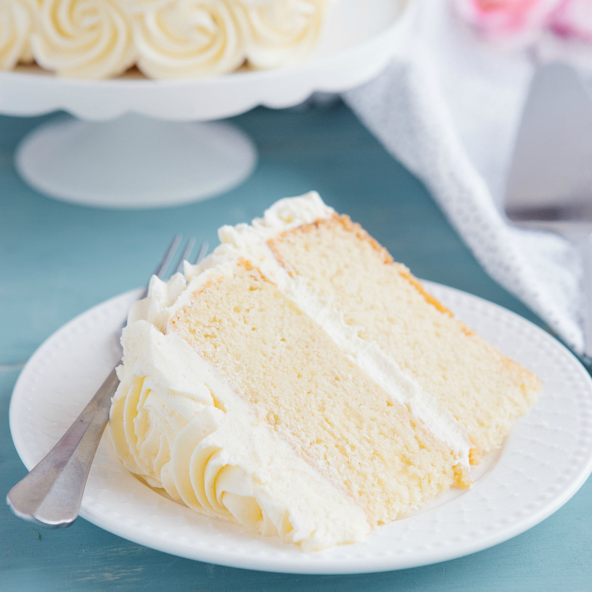 Vanilla Cake Recipe: Best Ever Vanilla Bean White Cake {Birthday Cake}