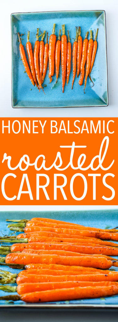 Balsamic honey glazed carrots Pinterest