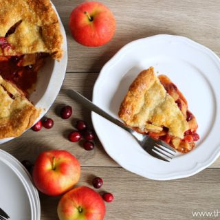 Cranberry Apple Pie and 10 No-Fail Tips For The Perfect Pie