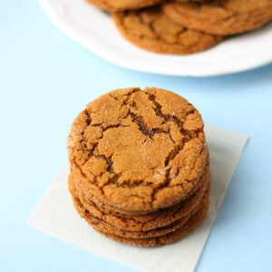 Best Ever Ginger Molasses Cookies (better than Starbucks!)