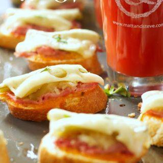 Mini Reuben Sandwich Appetizers