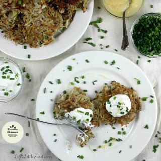 http://www.lifeslittlesweets.com/potato-pancakes-gf-foodiemamas/