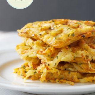 Waffle Iron Hash Brown Breakfast Potatoes #FoodieMamas