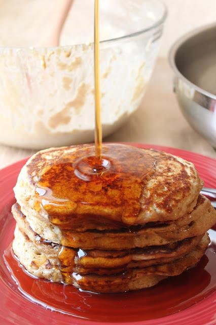 Healthy Buttermilk Pancakes