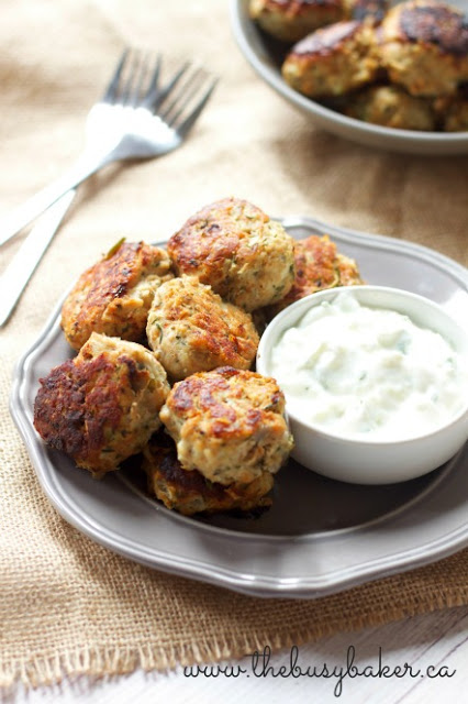 Skinny Greek Turkey Meatballs