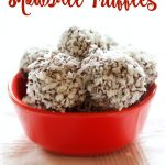 Peppermint Chocolate Snowball Truffles