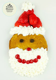 Strawberry Gingerbread Pancake Santas