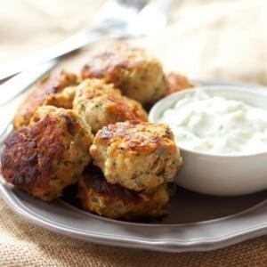Skinny Greek Turkey Meatballs