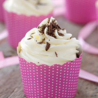 titled image (and shown): Chocolate Beet Cupcakes with Cream Cheese Frosting
