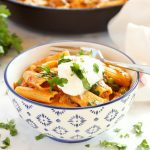 Easy One Pot Tex Mex Mac and Cheese