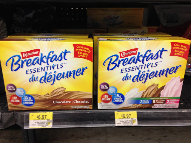 boxes of Carnation Breakfast Essentials