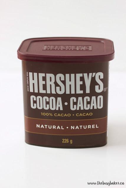 Hershey's 100% cocoa powder