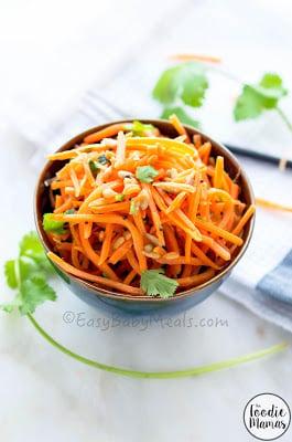 http://www.easybabymeals.com/quick-carrot-salad/