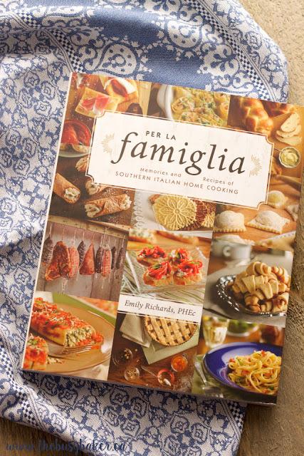 cookbook cover: Per La Famiglia