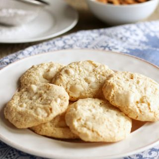 titled image (and shown): Amaretti Cookies