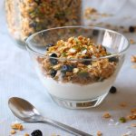 blueberry pumpkin seed granola