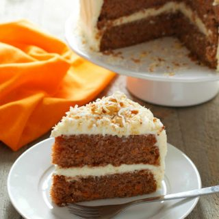 Classic Carrot Cake with Cream Cheese Frosting #FoodieMamas