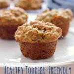 Healthy Toddler Friendly Mini Muffins