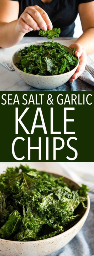 kale chips pinterest