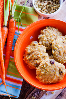 Soft Batch Oatmeal Carrot Cake Cookies