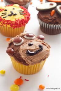 monkey cupcake