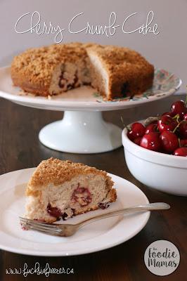 Cherry Crumb Cake