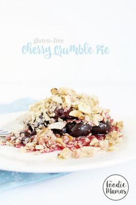 Gluten Free Cherry Crumble Pie