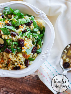 bowl of Cherry Almond Couscous