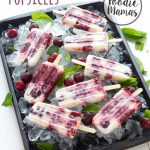 Cherry Cheesecake Popsicles #FoodieMamas