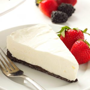 Classic No Bake Cheesecake