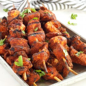 Dry Rub Barbecue Chicken