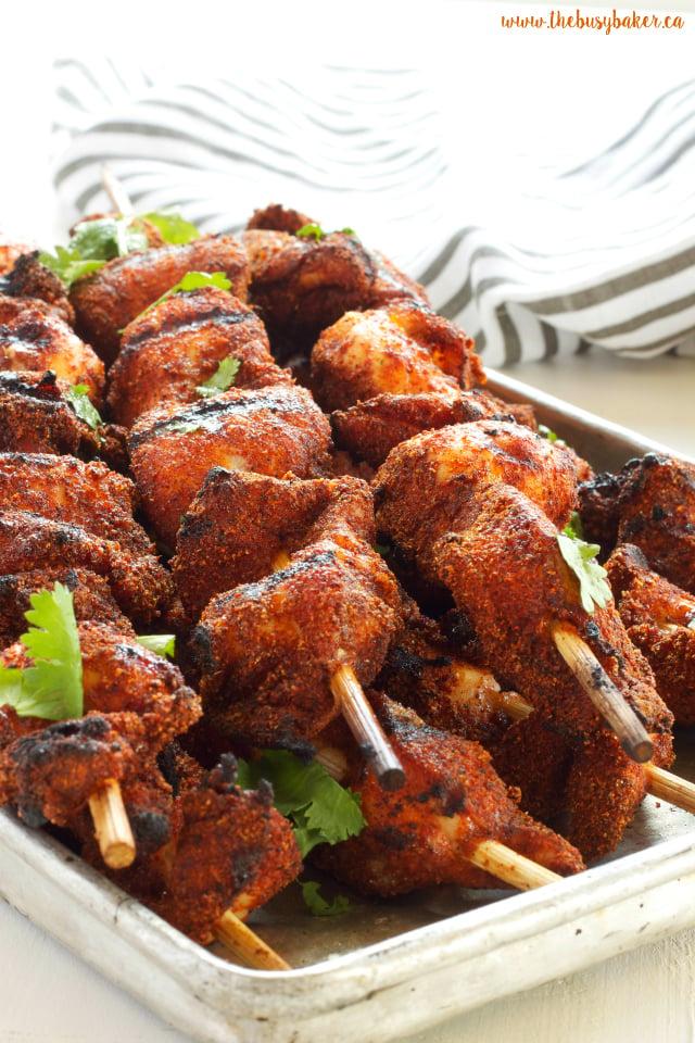 Dry Rub Barbecue Chicken www.thebusybaker.ca