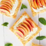 Fresh Nectarine Tart with Lemon Mascarpone Filling