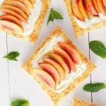 Fresh Nectarine Tart with Lemon Mascarpone Filling