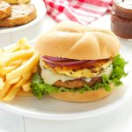 Hawaiian Teriyaki Fish Burgers