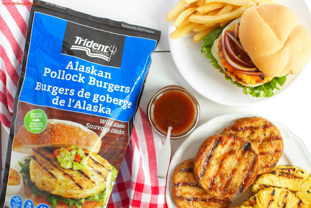 Hawaiian Teriyaki Fish Burgers www.thebusybaker.ca
