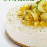 Kiwi Lime No-Bake Cheesecake