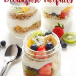 Tropical Fruit Breakfast Parfaits